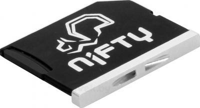 Адаптер для карты памяти The Nifty MiniDrive Macbook Air (Silver) - общий вид