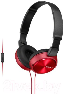 Наушники-гарнитура Sony MDR-ZX310APR