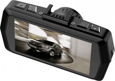 Автомобильный видеорегистратор AdvoCam FD-GPS Black - дисплей