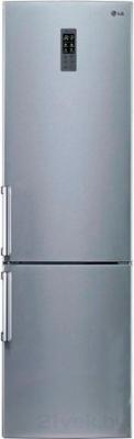 Холодильник с морозильником LG GW-B489YLQW - общий вид