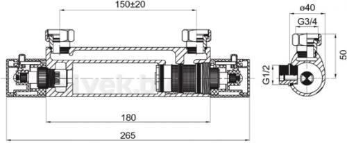 Смеситель Ferro TAM7 - схема