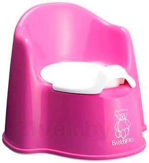 Детский горшок BabyBjorn 0551.55 (Pink) - общий вид