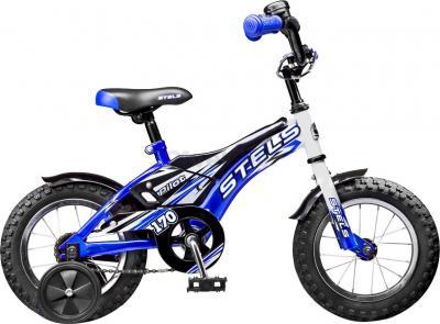 Детский велосипед Stels Pilot 170 (12, Blue-White) - общий вид