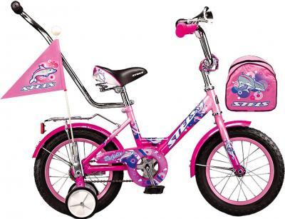 Детский велосипед Stels Dolphin 12 (Pink) - общий вид