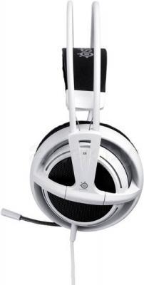 Наушники-гарнитура SteelSeries Siberia v2 Full-size Headset (белый) - вид сбоку