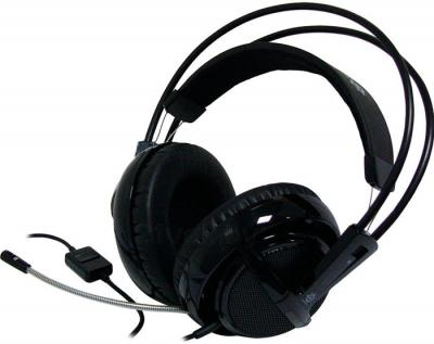 Наушники-гарнитура SteelSeries Siberia v2 Full-size Headset (Black) - общий вид