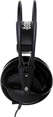 Наушники-гарнитура SteelSeries Siberia v2 Full-size Headset (Black) - вид сбоку