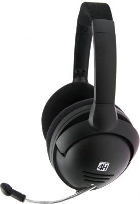 Наушники-гарнитура SteelSeries 4H (Black) - вид сбоку
