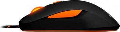 Мышь SteelSeries Kana v2 Black (62261) - вид сбоку