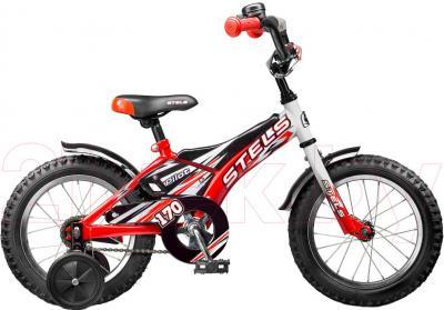 Детский велосипед Stels Pilot 170 (14, Red-White) - общий вид