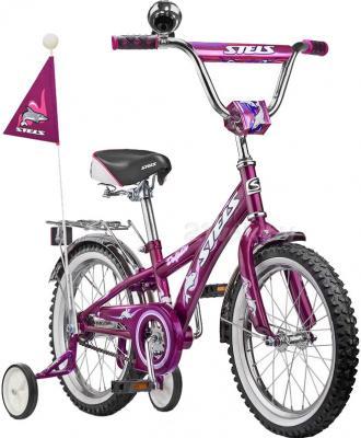 Детский велосипед Stels Dolphin 16 (Purple) - общий вид