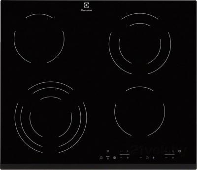 Электрическая варочная панель Electrolux EHF56343FK - общий вид