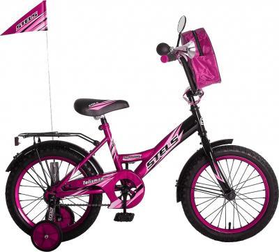 Детский велосипед Stels Talisman Black 16 (Pink) - общий вид