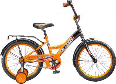 Детский велосипед Stels Talisman Black 16 (Orange) - общий вид