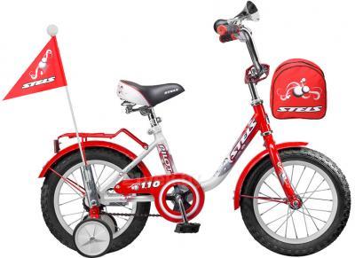 Детский велосипед Stels Pilot 110 (16, Red-White) - общий вид