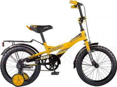 Детский велосипед Stels Pilot 130 (16, Yellow-Black) - общий вид