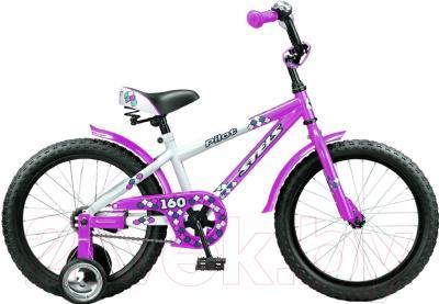 Детский велосипед Stels Pilot 160 (16, Purple-White)