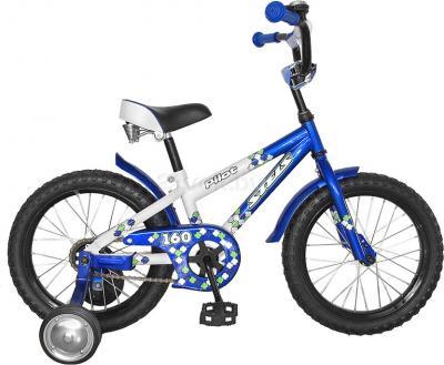 Детский велосипед Stels Pilot 160 (16, сине-белый) - общий вид