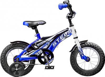 Детский велосипед Stels Pilot 170 (16, White-Blue) - общий вид