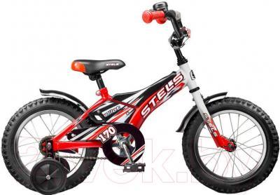 Детский велосипед Stels Pilot 170 (16, White-Red) - общий вид