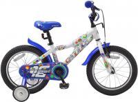 Детский велосипед Stels Pilot 180 (16, White-Blue) -