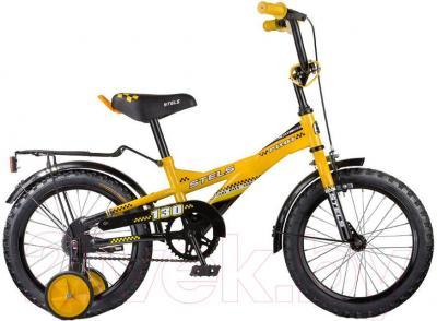 Детский велосипед Stels Pilot 130 (18, Orange-Black) - общий вид