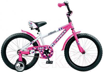 Детский велосипед Stels Pilot 160 (18, Pink-White) - общий вид