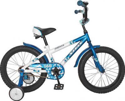 Детский велосипед Stels Pilot 160 (18, морская волна/белый) - общий вид