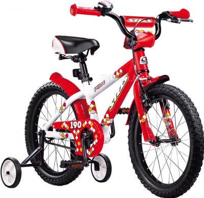 Детский велосипед Stels Pilot 190 (18, Red-White) - общий вид