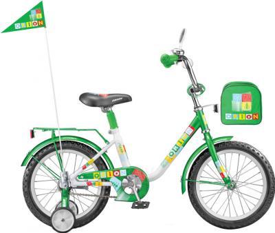 Детский велосипед Stels Flash 18 (Green-White) - общий вид