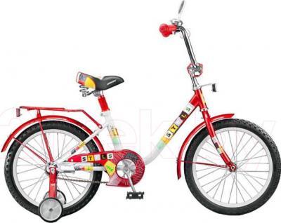 Детский велосипед Stels Flash 18 (Red-White) - общий вид