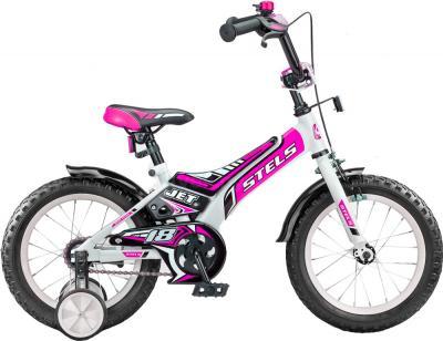 Детский велосипед Stels Jet 18 (Pink) - общий вид