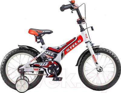 Детский велосипед Stels Jet 18 (Red) - общий вид