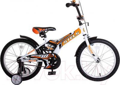 Детский велосипед Stels Jet 18 (Orange) - общий вид