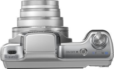 Компактный фотоаппарат Olympus SZ-15 (серебристый) - вид сверху