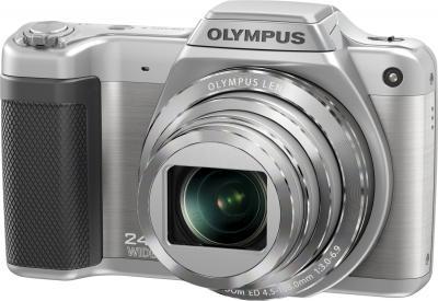 Компактный фотоаппарат Olympus SZ-15 (серебристый) - общий вид