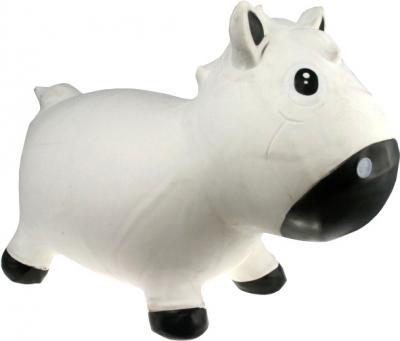 Игрушка-прыгун KidzzFarm Коник Гарри (белая с черным) - общий вид