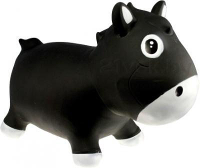 Игрушка-прыгун KidzzFarm Коник Гарри (черная с белым) - общий вид