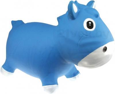 Игрушка-прыгун KidzzFarm Коник Гарри (голубая с белым) - общий вид
