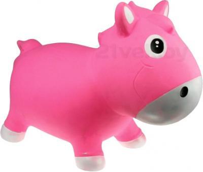 Игрушка-прыгун KidzzFarm Коник Гарри (розовая с белым) - общий вид