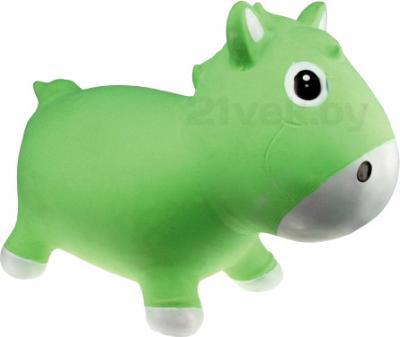 Игрушка-прыгун KidzzFarm Коник Гарри (зеленая с белым) - общий вид