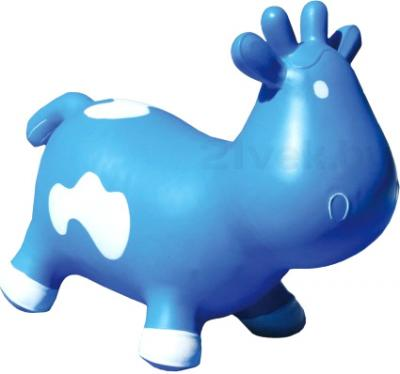 Игрушка-прыгун KidzzFarm Коровка Бетси (голубая с белым) - общий вид