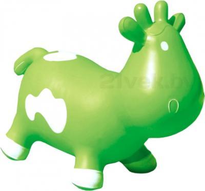 Игрушка-прыгун KidzzFarm Коровка Бетси (зеленая с белым) - общий вид