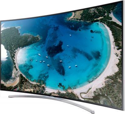 Телевизор Samsung UE55H8000AT - вполоборота