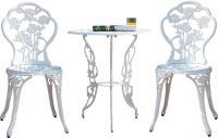 Комплект садовой мебели Sundays HFCS-001 (белый) -