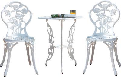Комплект садовой мебели Sundays HFCS-001 (белый) - общий вид