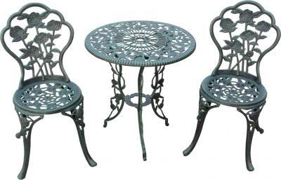 Комплект садовой мебели Sundays HFCS-001 (зеленый) - общий вид