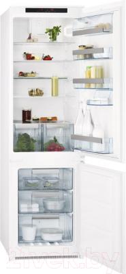 Холодильник с морозильником AEG SCT71800S1