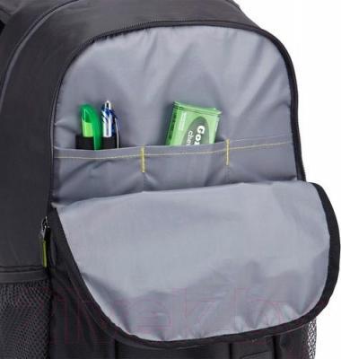 Рюкзак для ноутбука Case Logic WMBP-115K - карман-органайзер цвет товара черный