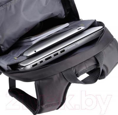 Рюкзак для ноутбука Case Logic WMBP-115R - отделение для ноутбука цвет товара бордовый
